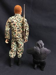 GI JOE - ADVENTURE TEAM - CAPTURE of the PYGMY GORILLA Set